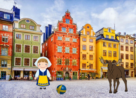 Get away from it all for the month of Sweden on Reptilzer!